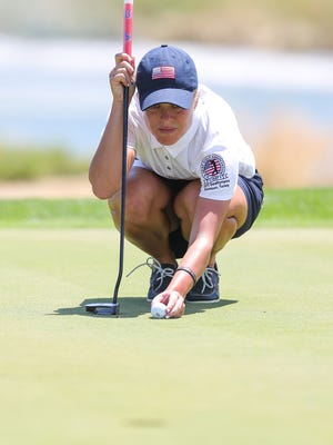 Kaylin Yost, who will compete in the PHC Classic this weekend at Brown Deer Park Golf Course, won a gold medal in the Deaflympics last week in Turkey.