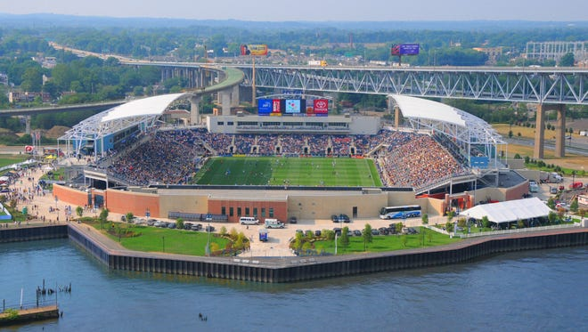 PPL Park MLS Stadium, home of the Philadelphia Union.