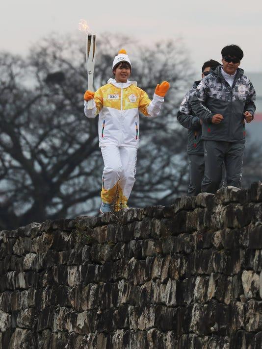 EPA SOUTH KOREA PYEONGCHANG OLYMPIC FLAME SPO SPORTS EVENTS KOR NO
