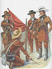 Benavides heroics started when he was on patrol in South Texas looking for wild mustangs to tame for Sam Houston's army. Near San Patricio he and expedition led by James Grant ran into Mexican Gen. Urrea, who was leading a second Mexican Army north to meet Santa Anna's troops.