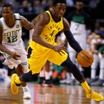 Victor Oladipo leads Pacers to signature win over East's best Celtics