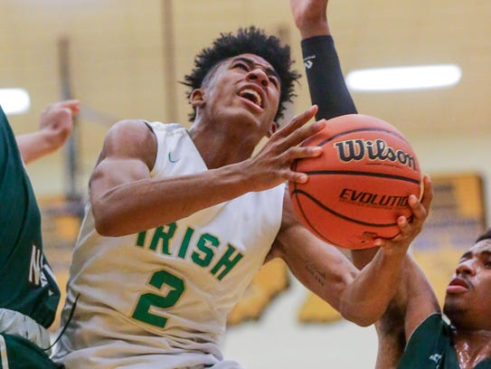 Cathedral's Armaan Franklin is drawing plenty of high-Division