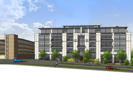 Southfield developer is ready to invest over 60 million for 22 river terrace building link