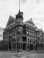 The Evansville YMCA, located on the corner of Fourth