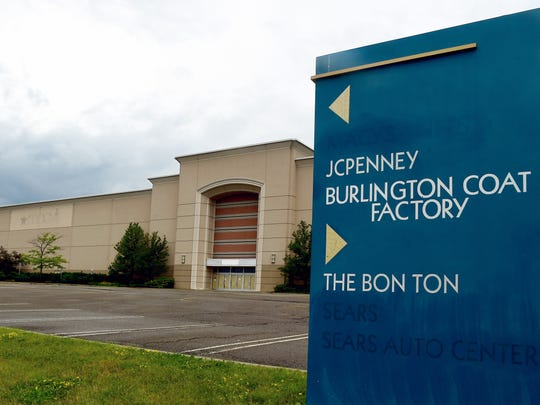 The Oakdale Mall in Johnson City has lost large anchor retailers Macy's, Sears and Bon-ton, leaving only JC Penney and Burlington Coat Factory as the main stores.