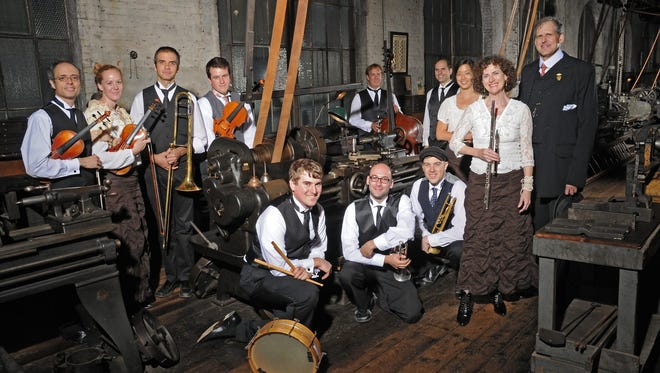 The Paragon Ragtime Orchestra will perform at Wayne Theatre on Jan. 22 in Waynesboro. Program will feature silent films with the orchestra plays original music scores from the 1910s and '20s.