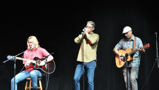 """Members of the Tallahassee Fire Department performed as part of the """"Peace With Music"""" concert"""