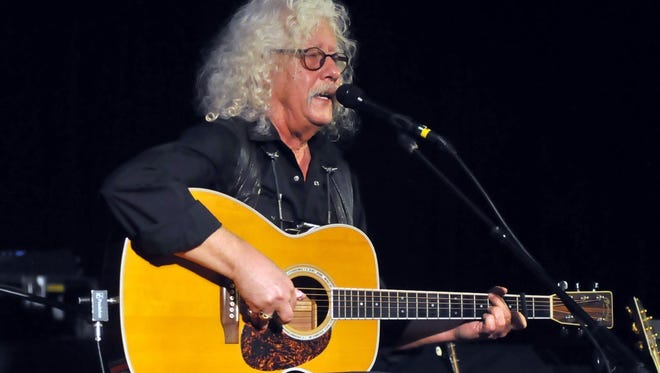 """In his """"Running Down the Road"""" tour, Arlo Guthrie will feature songs he hasn't performed in decades."""