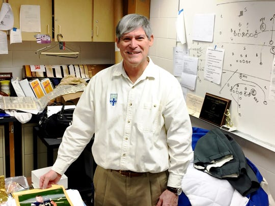Coaching legend Tom Mach stepped down after 41 years at the helm of the varsity football program atDetroit Catholic Central High School in Novi.