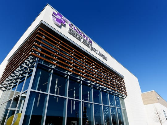 The new Christus Health micro-hospital on Viking Drive
