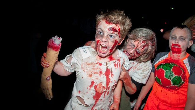 The seventh annual Zombie Walk will take place Saturday, Oct. 22 on downtown Main Street and Plaza de Las Cruces.