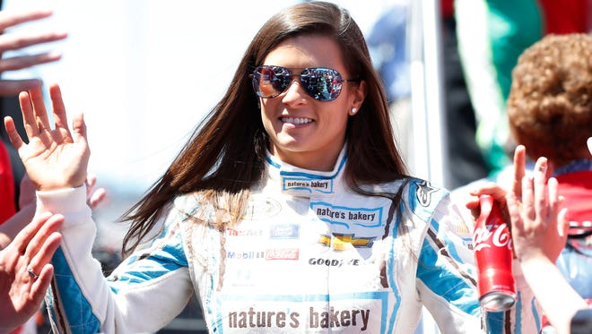 Danica Patrick believes drivers should be able to sell their own merchandise.