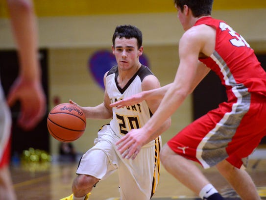 Jacob Webb scored 19 points in the final three quarters Thursday in Old Fort's setback to SJCC.