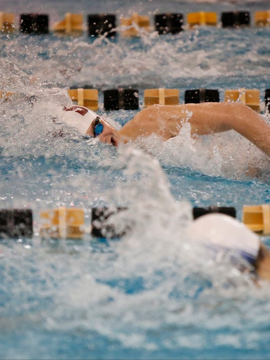 Section 1 Swimming And Diving Championship Results