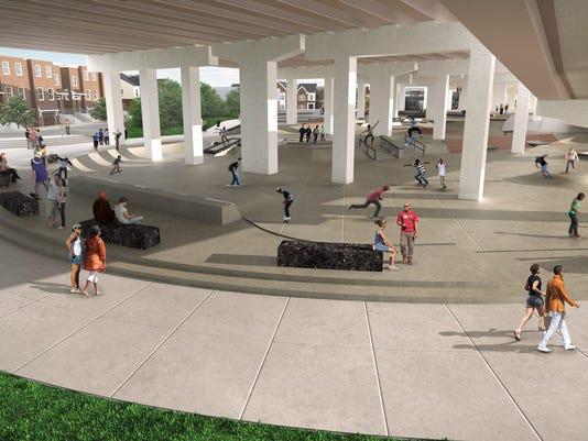 Wilmington Skate Plaza