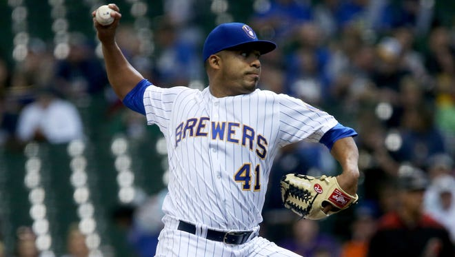 Junior Guerra of the Milwaukee Brewers is back in action Friday after time on the disabled list. He lasted nearly six innings while holding the  Diamondbacks to one run.
