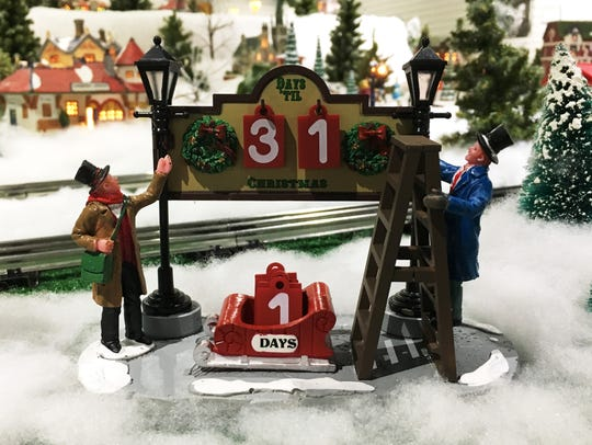 """The """"Hayes Train Special"""" model train display is open"""