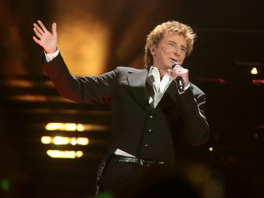 Barry Manilow will perform on March 30 at Bankers Life Fieldhouse.