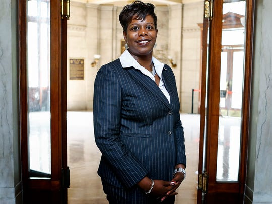 Jennifer Johnson Mitchell is a candidates for judge of Criminal Court Division 10.