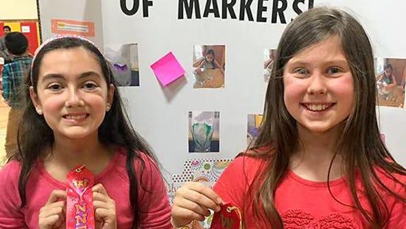 Tinc Road Elementary School held their Science Fair