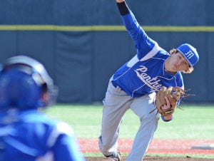 Midlothian pitcher Jimmy Fouse committed to Dallas Baptist.