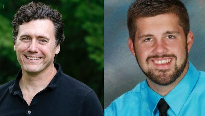 Aric Putnam and Dan Wolgamott each won the DFL endorsment on Saturday, March 3, for state House Districts 14A and 14B respectively.