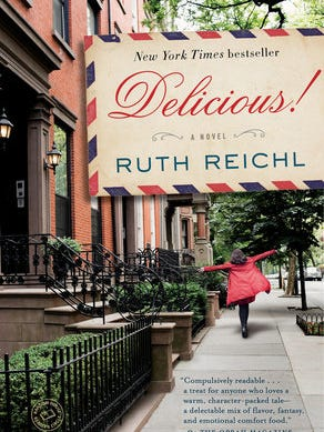 """Delicious"" by Ruth Reichl is one of the 2016 Battle Creek Reads."