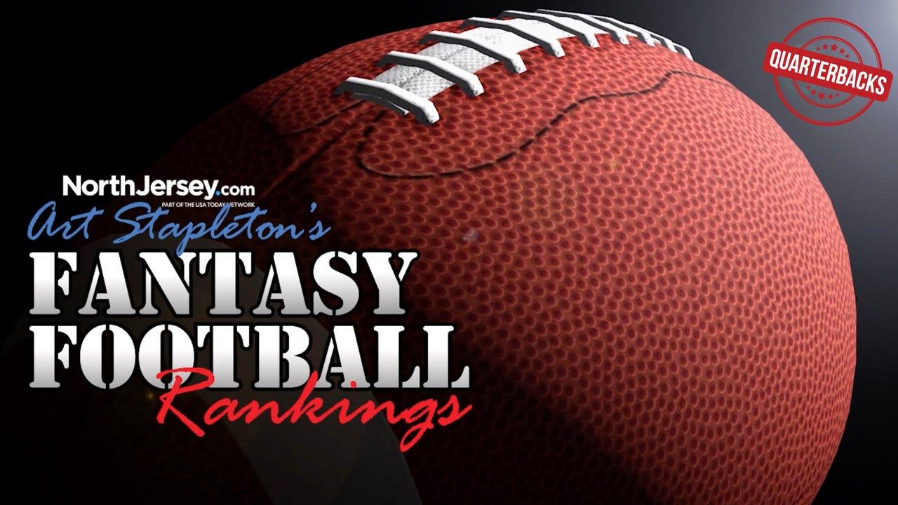 Art Stapleton's top 10 fantasy football quarterbacks for 2017.