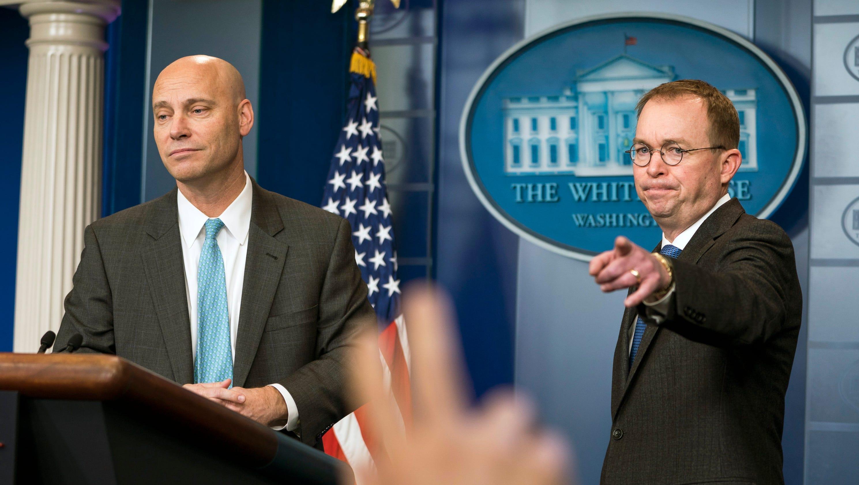 Trump cancels Mar-a-Lago trip as government shutdown deadline approaches