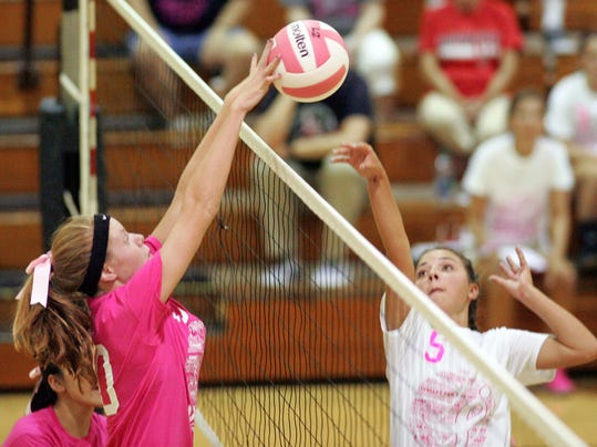 River View hosts Coshocton in volleyball