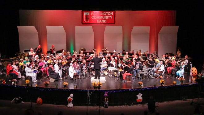 The Farmington Community Band opens its 52nd season with a Halloween concert 3 p.m., Sunday, Oct. 29, at Harrison High School.