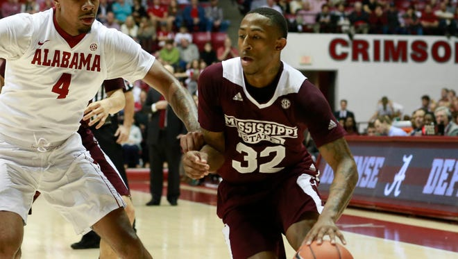 Senior Craig Sword has evolved his game at Mississippi State this season.