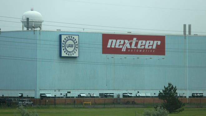 Nexteer Automotive in Saginaw makes electric power steering systems  for automobiles.