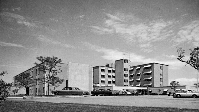 The Emma L. Bixby Hospital on Riverside Avenue constructed in 1957.