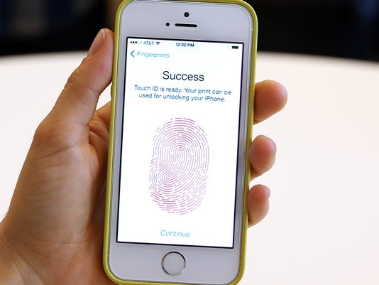 iphone fingerprint