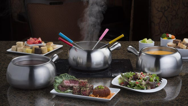 The Melting Pot of Whippany serves a three-course fondue meal.