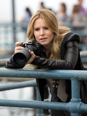 "Kristen Bell reprises her TV role as the title character in the movie ""Veronica Mars,"" out Friday."