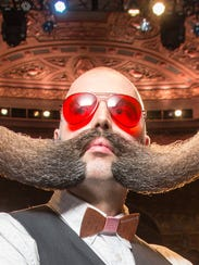 Participants of the 2015 National Beard and Moustache