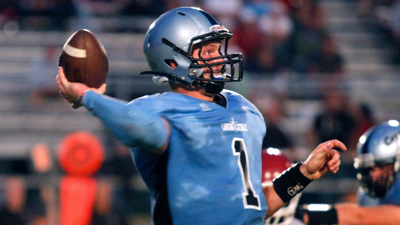 Lansing Catholic quarterback Tony Poljan talks about his upcoming signing with Central Michigan University.