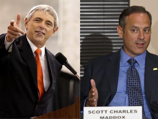 Jackie Pons and Scott Charles Maddox