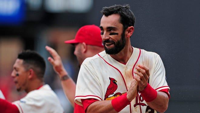 Matt Carpenter is batting .333 with 20 RBI atop the Cardinals lineup.