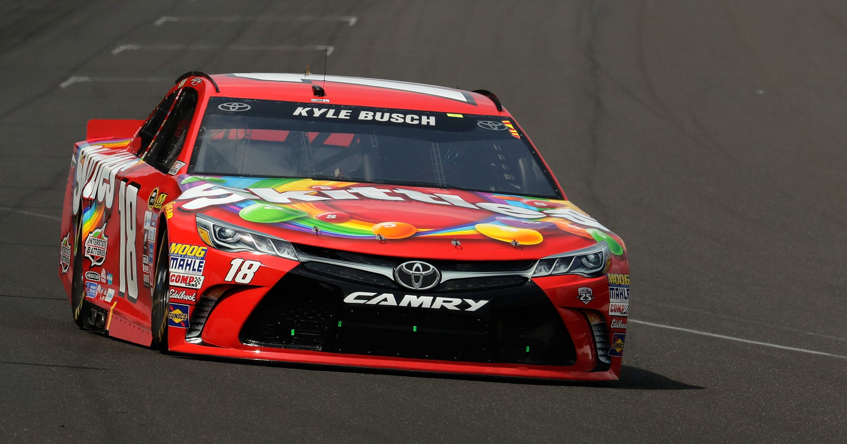 c3f5654e019 Kyle Busch wins Brickyard 400 for second year in a row