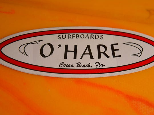 The easily recognized logo of the late Pat O'Hare.