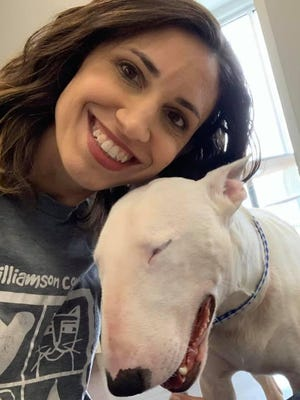Misty Valenta is the Williamson County Regional Animal Shelter animal services director.