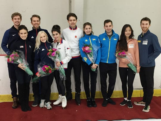Five dance and pairs skating teams with Winter Olympic