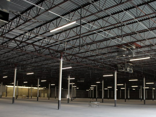 The interior of a west Abilene Kmart has been gutted