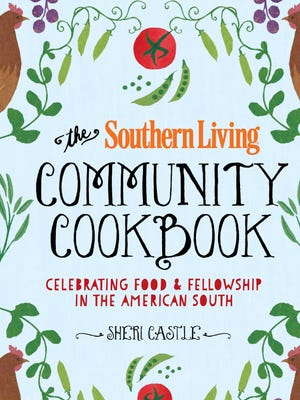 Sheri Castle looked through old recipes to help compile her Southern Living cookbook.