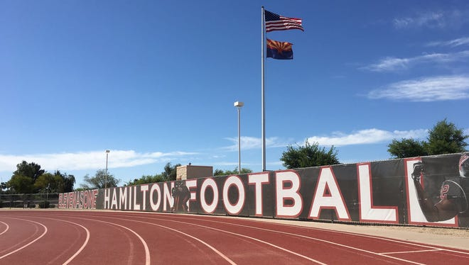 Notices of claim filed by families of three students who allegedly were sexually assaulted contend the Chandler Unified School District was negligent in supervising and hiring Hamilton High's football coaches.