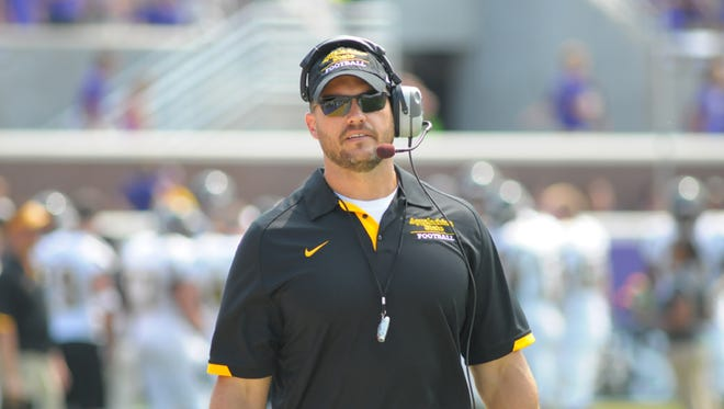 McDowell graduate Dwayne Ledford had been an assistant football coach at Appalachian State since 2012.