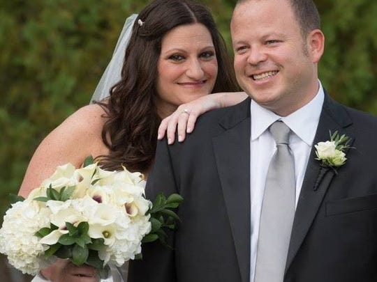 Robyn Schneider and Michael Fleischman, both 43, first